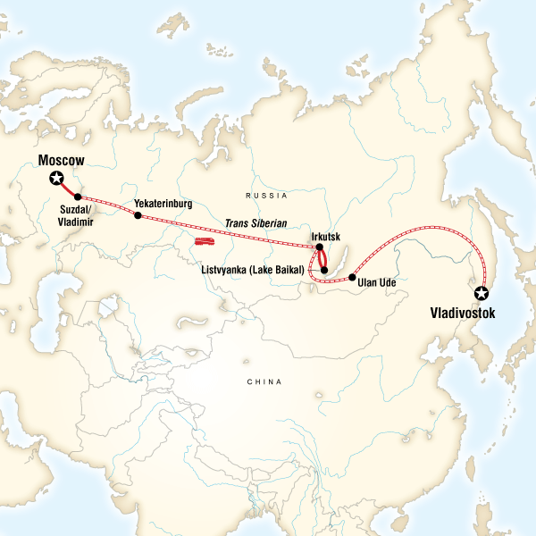 Epic TransSiberian Journey in Russia Asia G Adventures