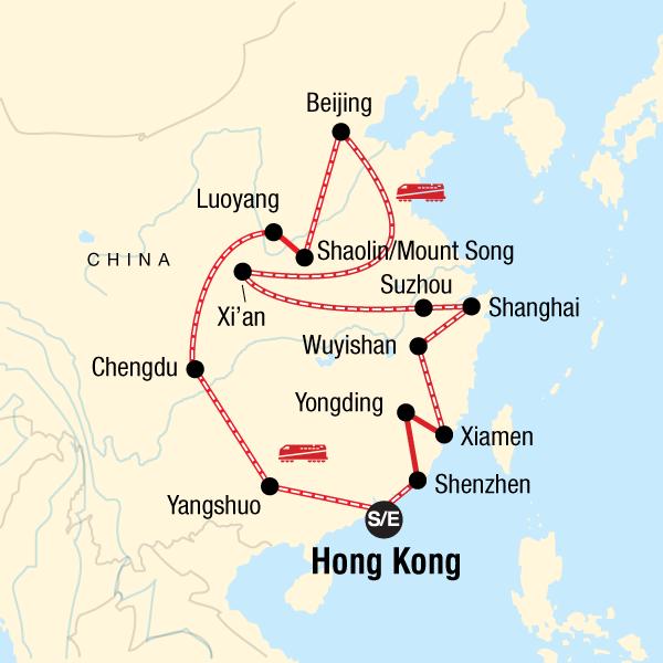 Karte China Hong Kong.China Mit Kleinem Budget Die Ultimative Reise In China Asien G