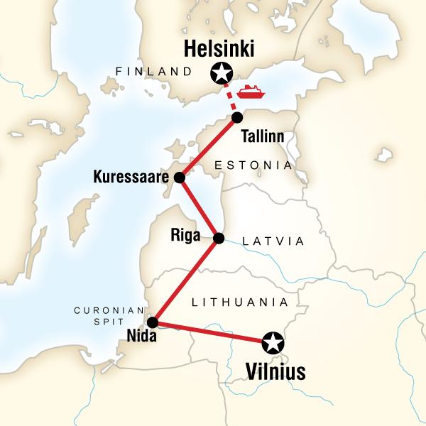 Baltık Ülkeleri Turu