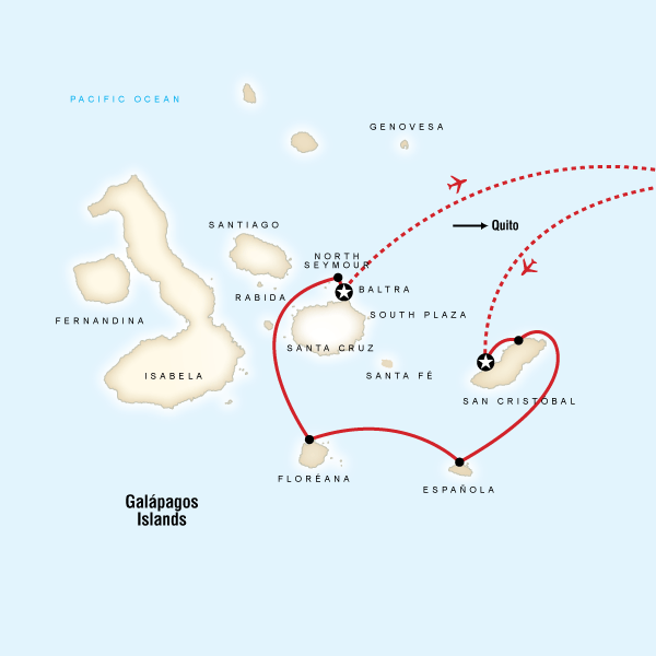 Galapagos Adaları Turu