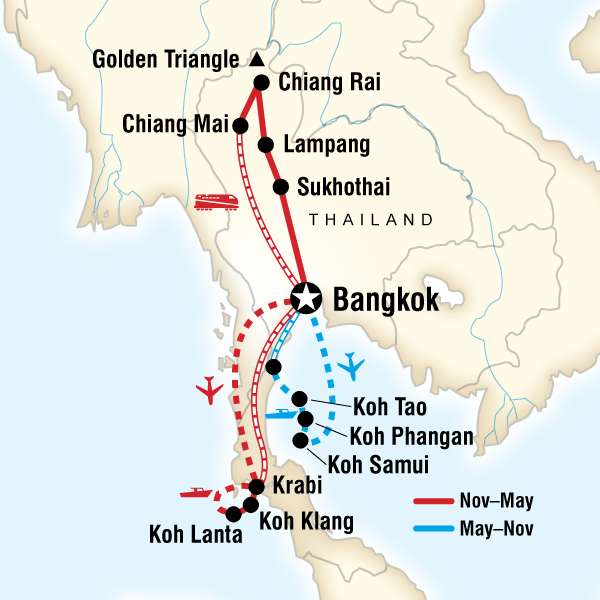 Thailand Discovery in Thailand Asia G Adventures