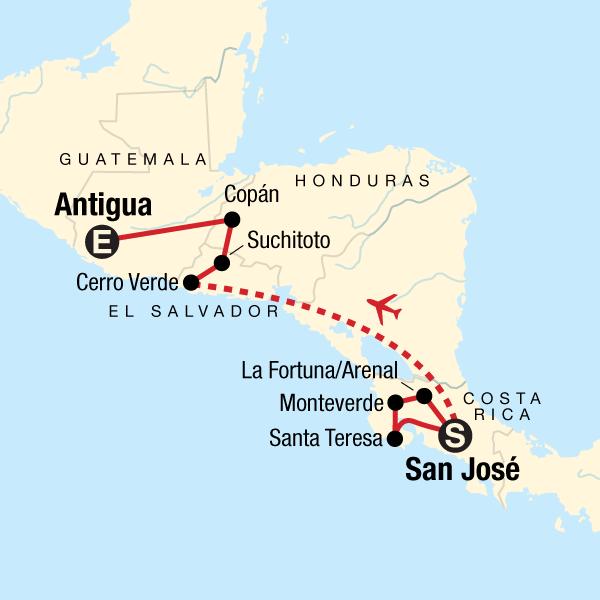 Das unberührte Mittelamerika