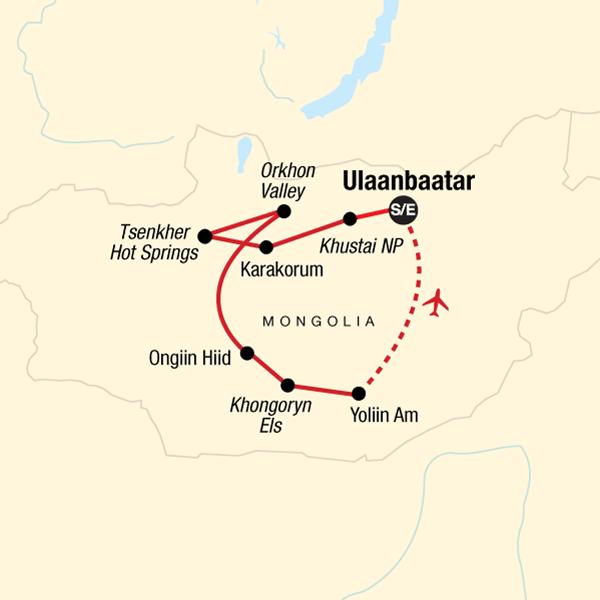 Entdecke die Mongolei in Mongolei, Asien G Adventures