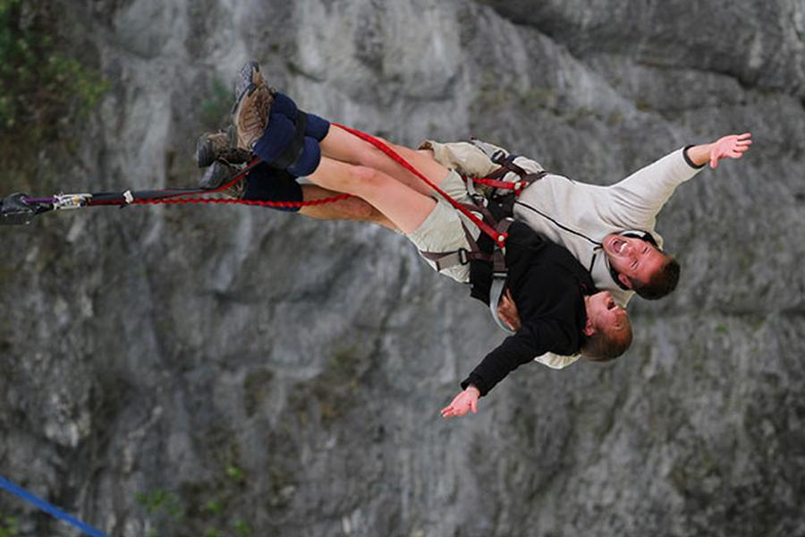 Dan and Audrey share their top seven adrenaline picks in New Zealand