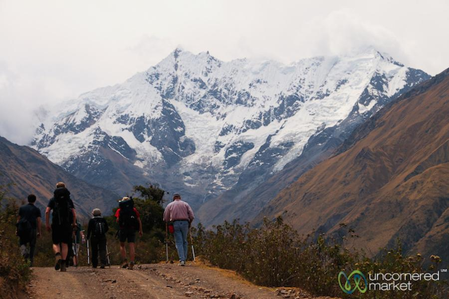 The Salkantay Trek to Machu Picchu is not nearly as famous and popular as its traditional cousin, the Inca Trail, but we'd argue that it gives it a run for its money with tough-to-beat views and the environmental diversity that you'll experience along the route.
