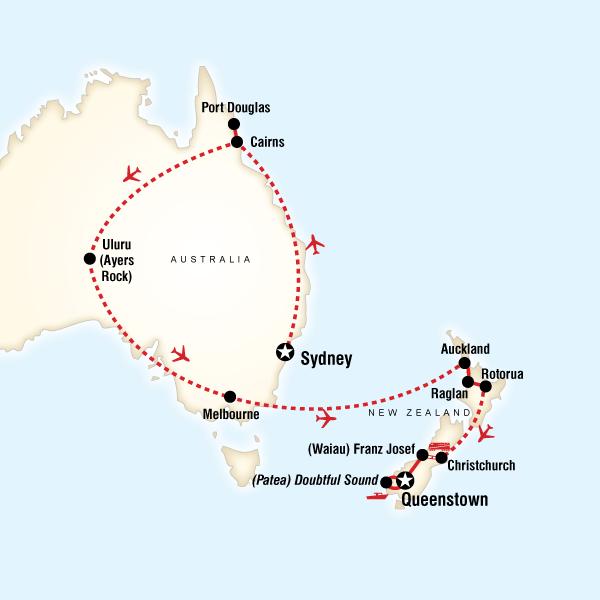 Explore Australia New Zealand in Australia Australia Pacific – Explore Australia Map