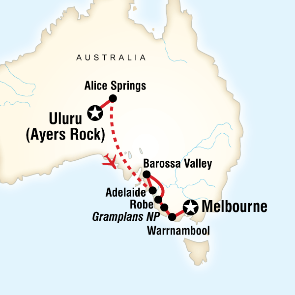 Outback to the Great Ocean Road in Style in Australia Australia