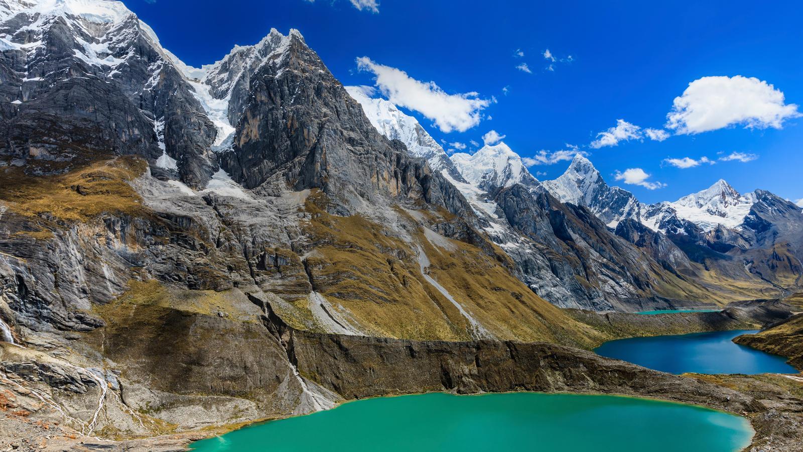 Trekking the Huayhuash Circuit in Peru, South America - G ...