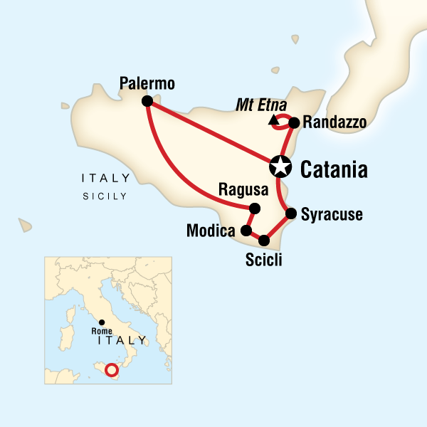 Cities In Sicily Italy Map.Best Of Sicily In Italy Europe G Adventures