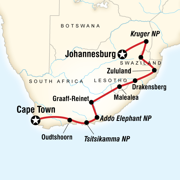 Tours of South Africa