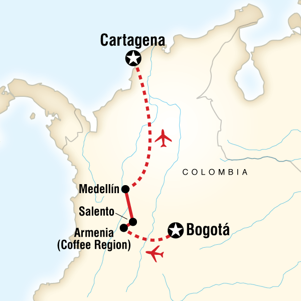Colombia Express in Colombia, South America - G Adventures