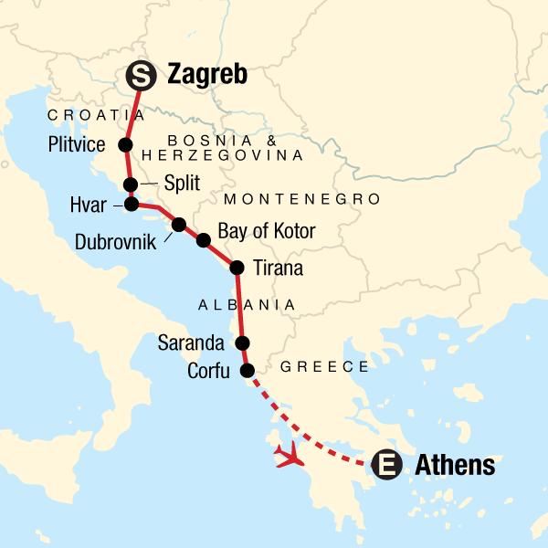 Von Zagreb nach Athen – Ouzo & Unterhaltung