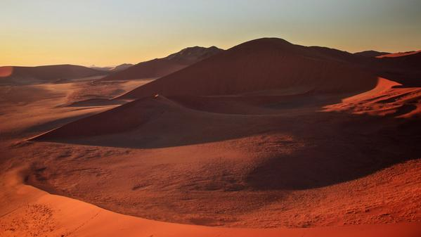 Landscapes of sand as far as the eye can see. Travel into the heart of the Namib desert with National Geographic Travel's Digital Nomad Robert Reid.