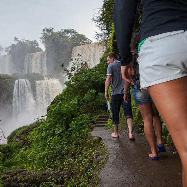 Buenos Aires to Rio de Janeiro: Falls & Footy