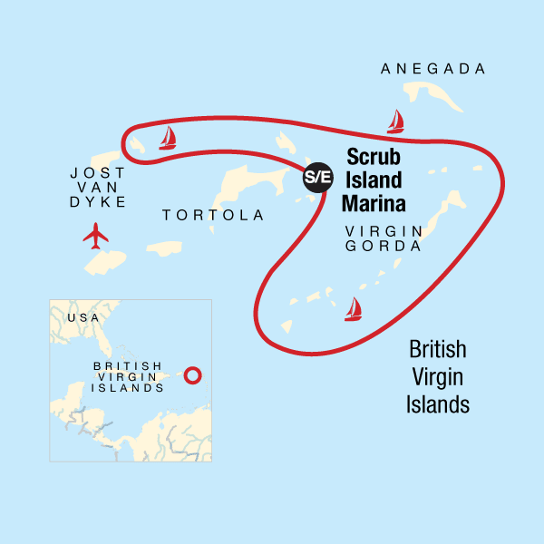 Sailing the British Virgin Islands – Tortola to Tortola in British ...