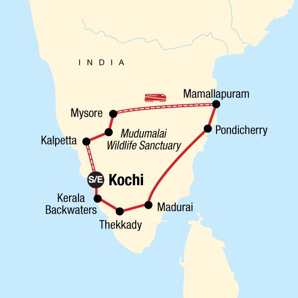 Das Beste von Südindien