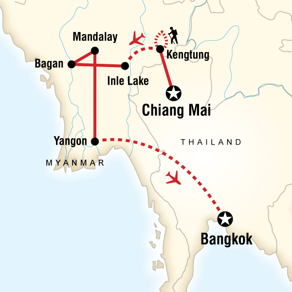 Myanmar On A Shoestring In Burmamyanmar Asia G Adventures