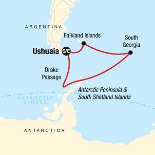 Map of Spirit of Shackleton