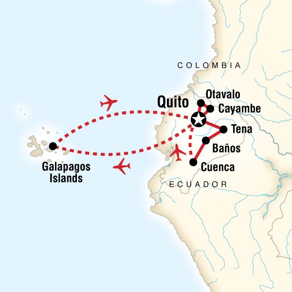 Full Ecuador in Ecuador South America  G Adventures