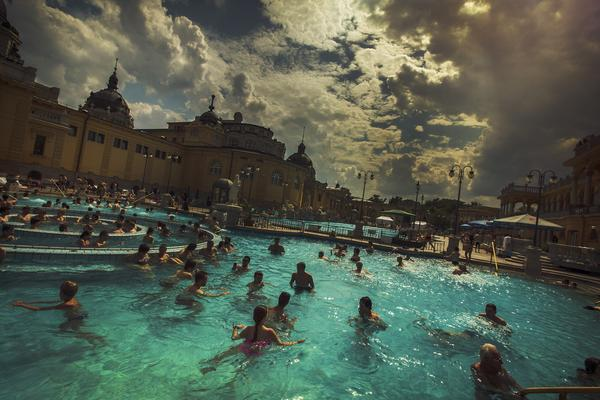 The Hungarian capital is full of thermal springs that have been used for relaxation and revitalization for centuries