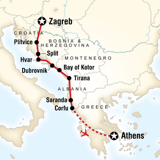 Croatia Adventure Zagreb To Dubrovnik In Croatia Europe