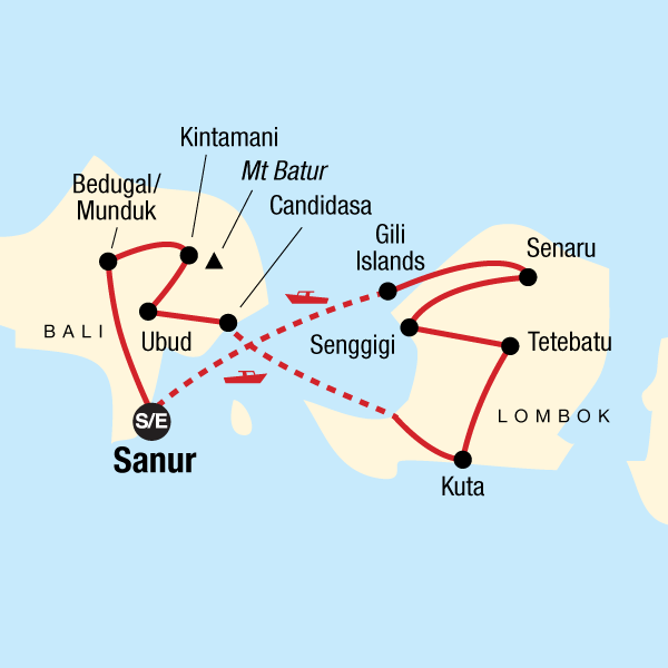 Bali Karte Asien.Indonesien Bali