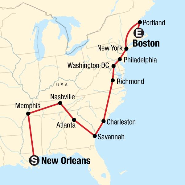 Die Highlights der Ostküste der USA – Nordwärts in ...