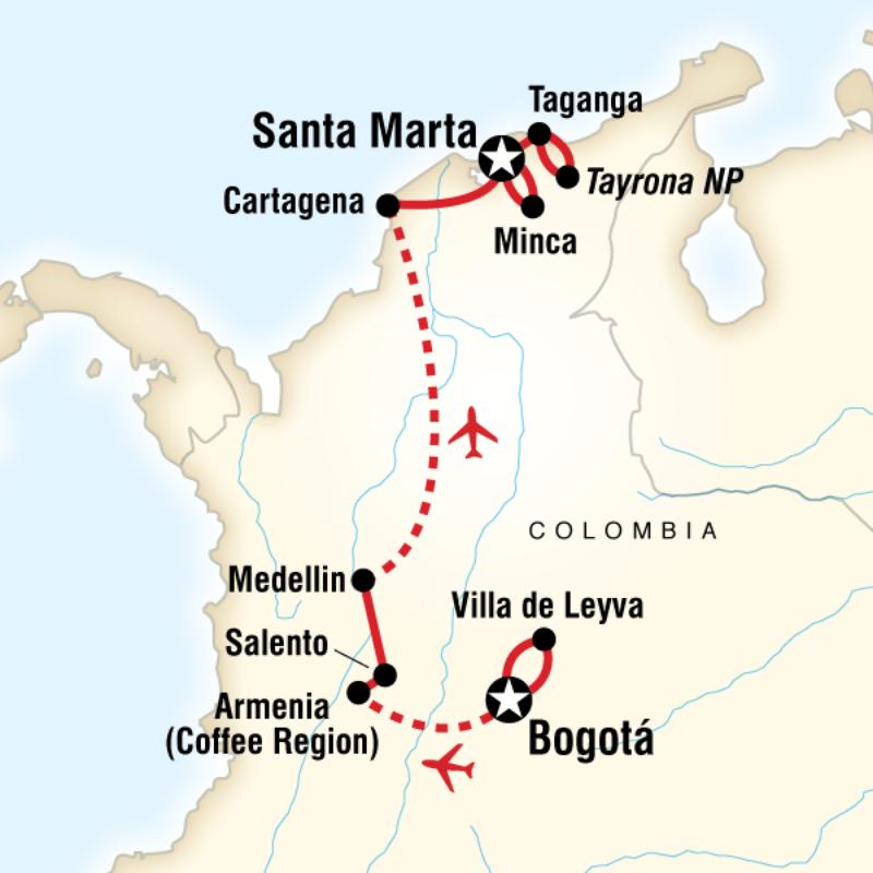 Homework help south american map columbia
