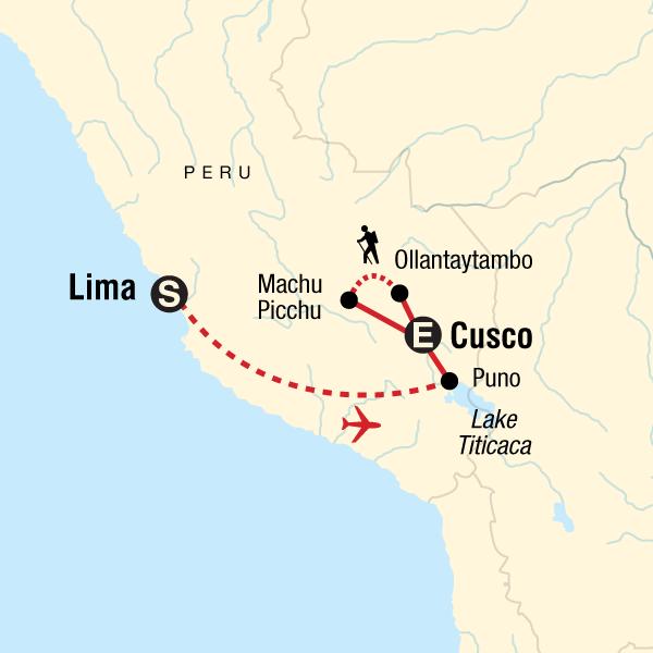Peru Karte.Erlebnisreise Durch Peru In Peru Südamerika G Adventures