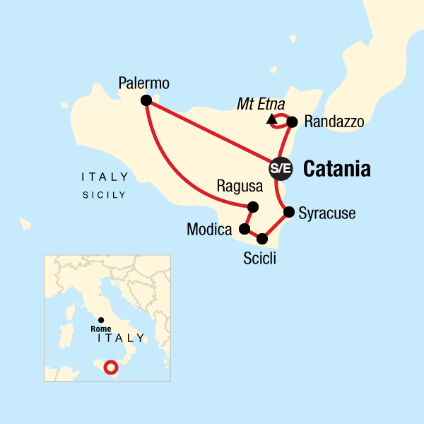 Sicily On Map Of Italy.Best Of Sicily