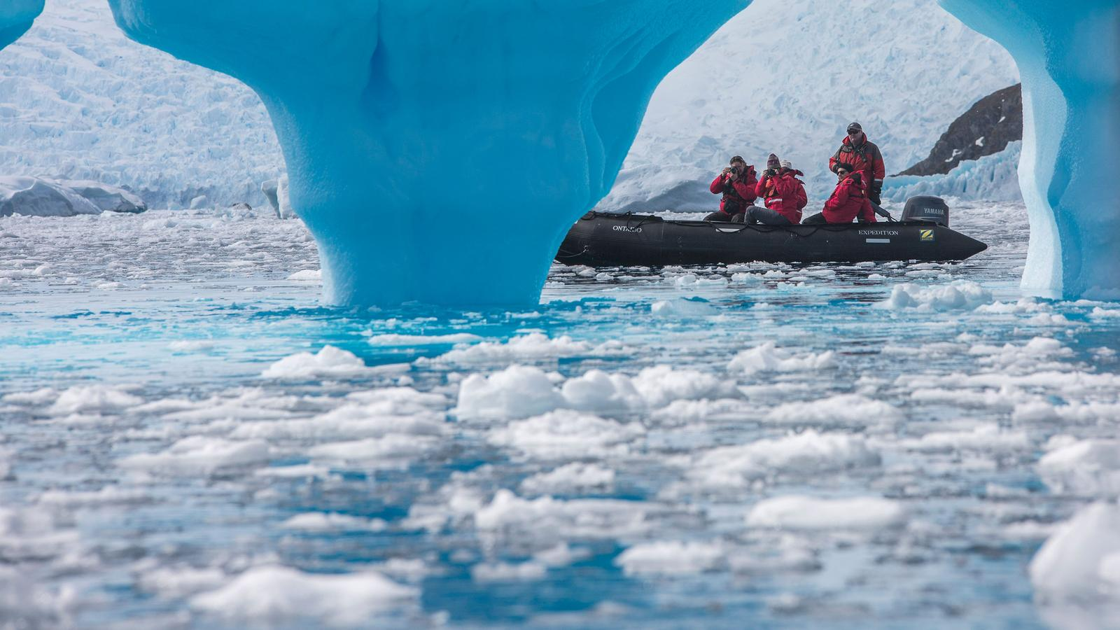 Flight Tours To Antarctica