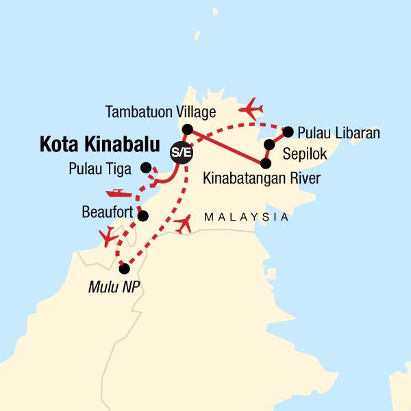 Experience Borneo In Borneo Asia G Adventures