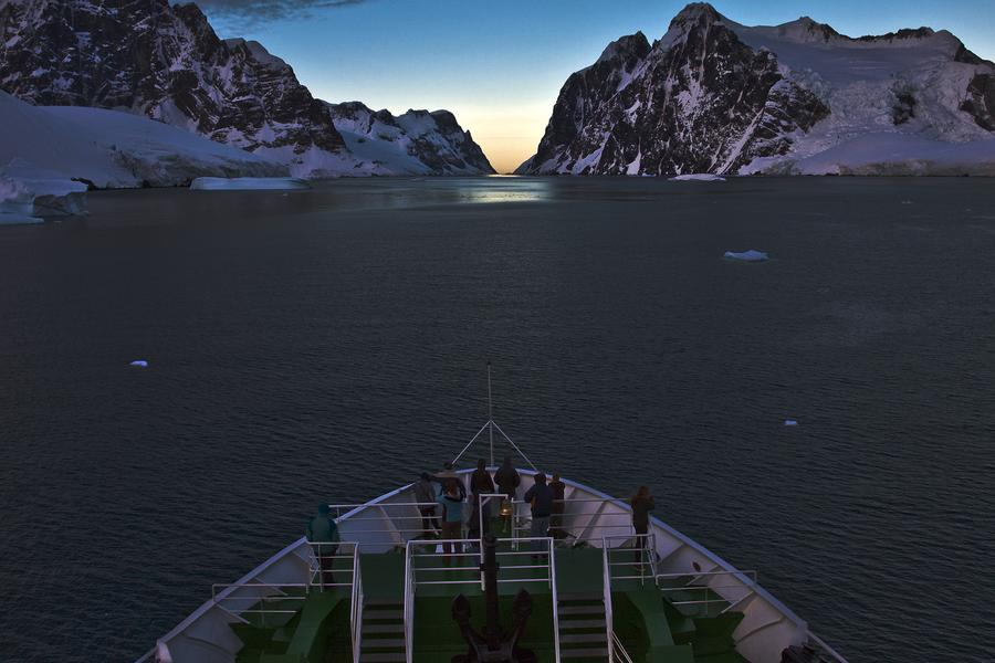 To get to Antarctica, you have to cross the infamous Drake Passage