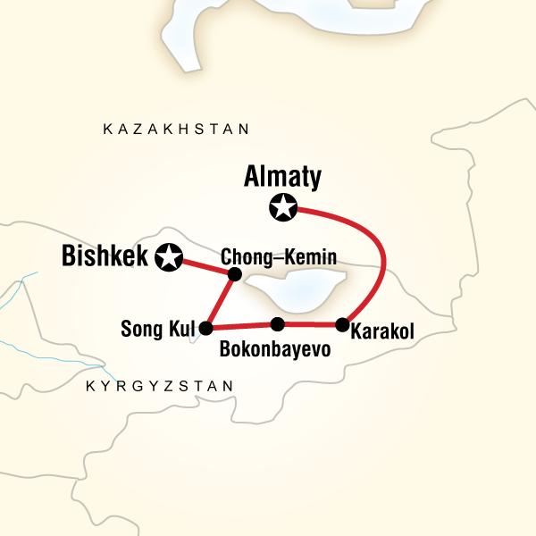 Kazakistan Kırgızistan Turu