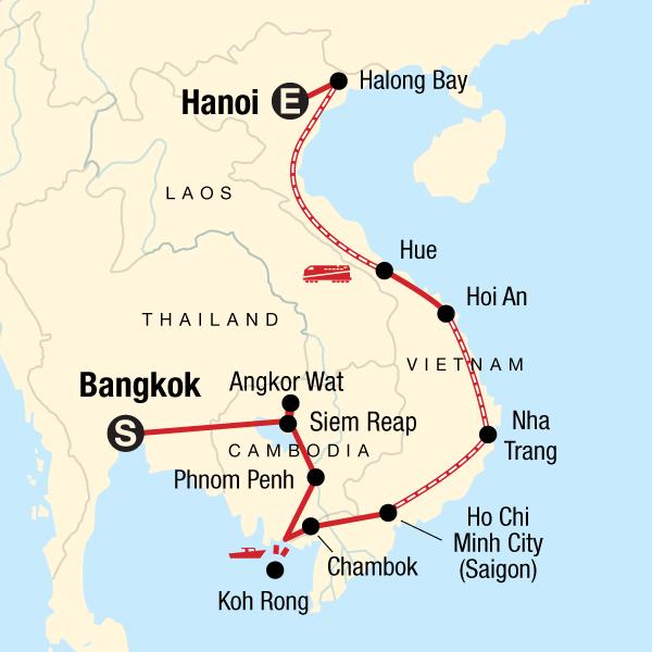 Kambodscha Vietnam Mit Kleinem Budget In Kambodscha Asien G