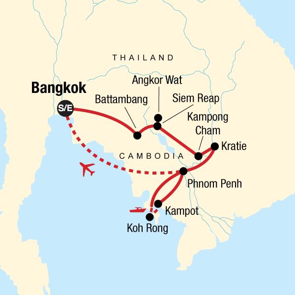 Ultimate Cambodian Adventure in Cambodia, Asia - G Adventures