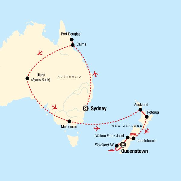 Map Of New Zealand Australia.Explore Australia New Zealand In Australia Australia Pacific