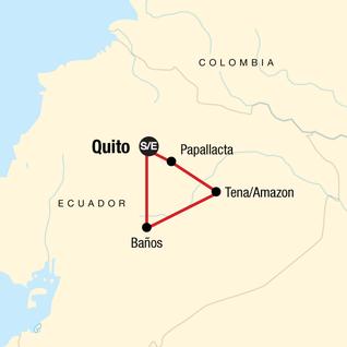 Map of Ecuador Quest