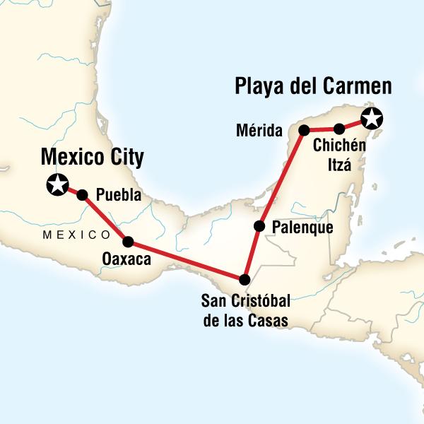 Meksika Medeniyetleri Turu