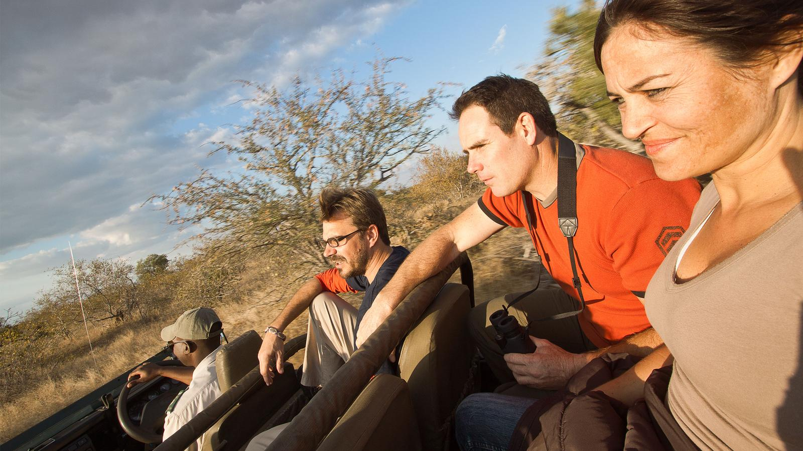 Driving through Kruger National Park with the CEO