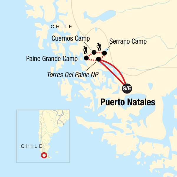 Torres Del Paine The W Trek
