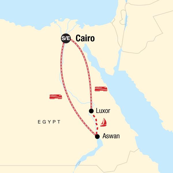 Ägypten – Pharaonen & Feluken