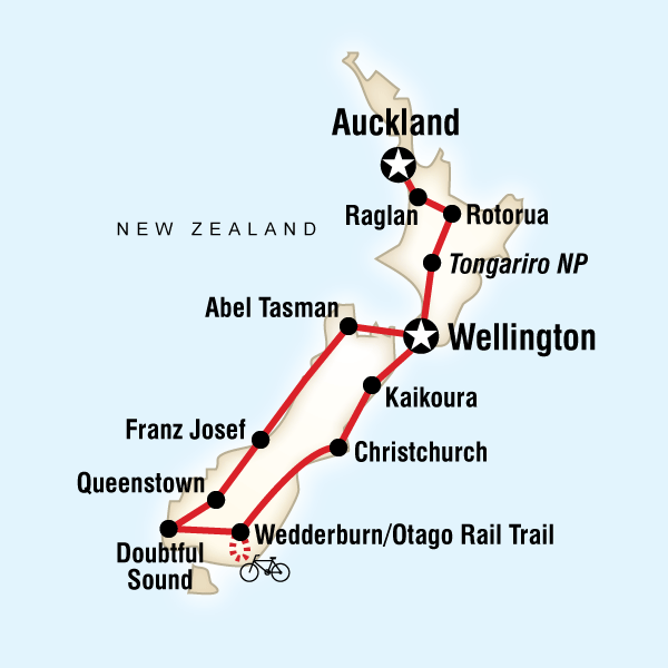 Lonely Planet New Zealand South Island Itinerary