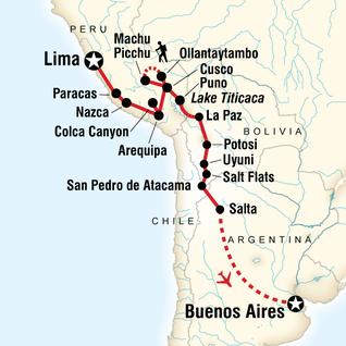 La Paz To Buenos Aires Adventure In Bolivia South America