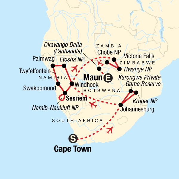 Ultimate Southern Africa Journey in Namibia, Africa - G