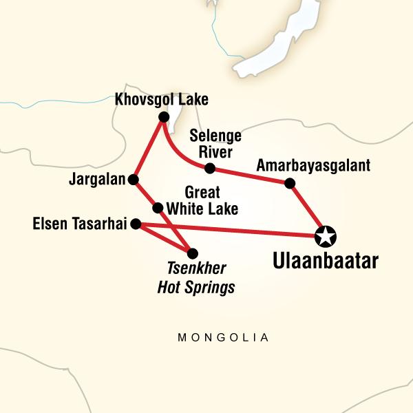 Naadam Festivali Moğolistan Turu