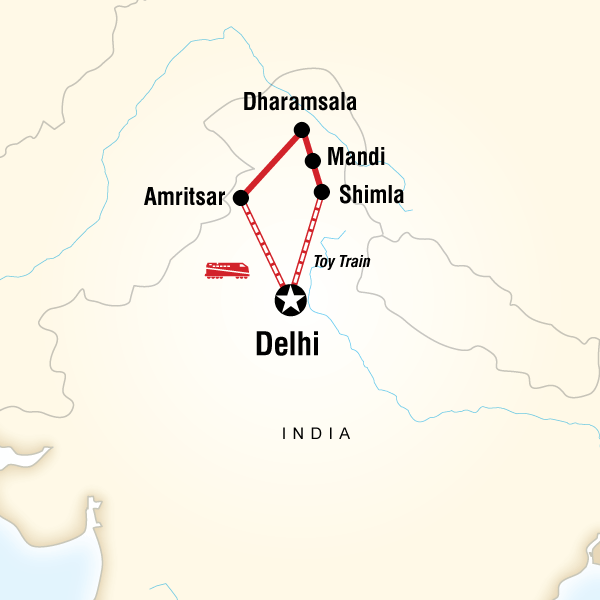 Northern India By Rail In India Asia G Adventures