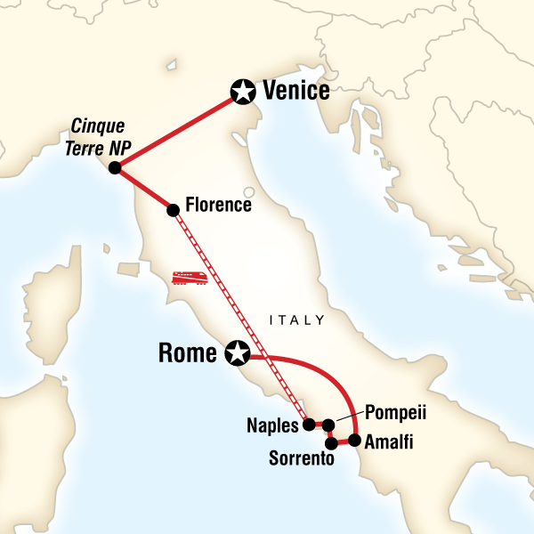 Iconic Italy in Italy, Europe - G Adventures