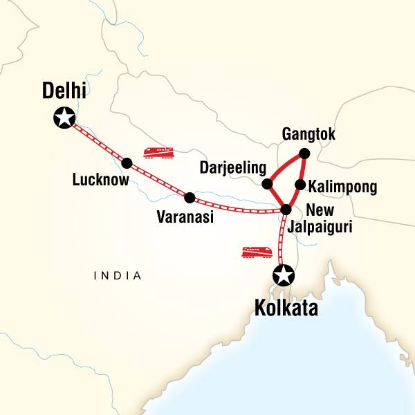 Northeast India & Darjeeling by Rail in India Asia G Adventures