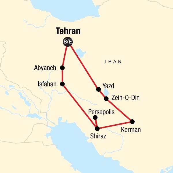 Persien Karte.Iran Entdecke Persien